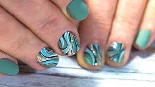Маникюр на короткие ногти. ПРОСТОЙ дизайн ногтей