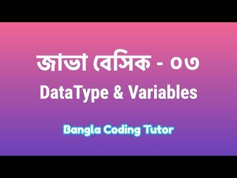 java-basic---03:-data-type-&-variables-|-bangla-coding-tutor