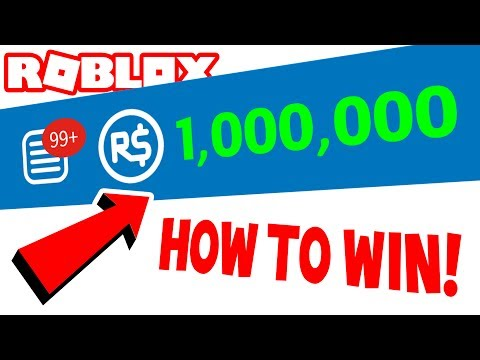 How To Get 20000000000 Robux And Tix No Scam Youtube How To Win 1 000 000 Robux Youtube