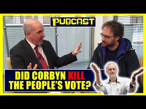 Talking #Brexit 3: Jeremy Corbyn and The Death of the #PeoplesVote