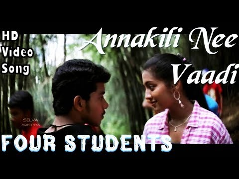 Annakili Nee Vaadi  4 Students Hd Video Song + Hd Audio  Bharath,gopika  Jassie Gift