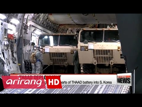 S. Korea begins process of deploying THAAD: military