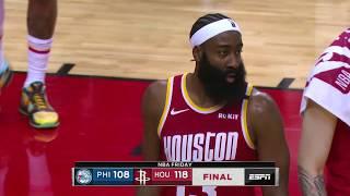 Houston Rockets vs Philadelphia 76ers | January 3, 2020