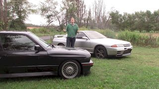 E30 BMW M3 vs. Nissan Skyline GT-R