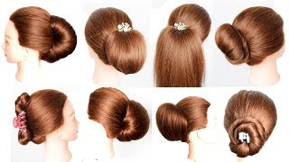 9 cute juda hairstyles using clutcher || Hairstyles 2019 || hair style girl || .s for style