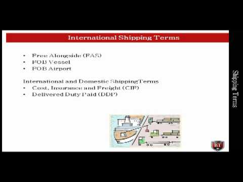 PME | Shipping Terms