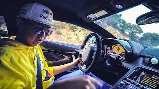 Some Rich Kid Gave Me His Lamborghini Aventador Sv! *Alex Choi Vlogs*