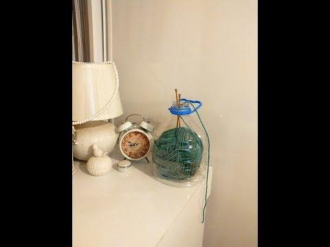Dıy Pet şişeden örgü çantası yapımı NASIL  yapılır.