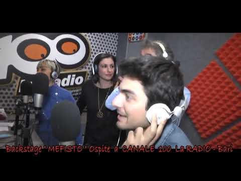 """Backstage """" Mefisto """"  in La Radio canale 100 - Bari - By: Miki D'Aquino"""