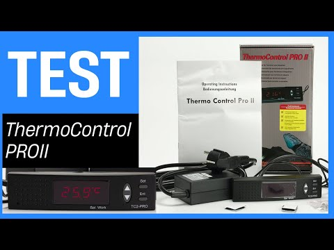 Lucky Reptile ThermoControl PRO II - Thermostat Mit Zeitschaltuhr (Terrarium-Serie 04)