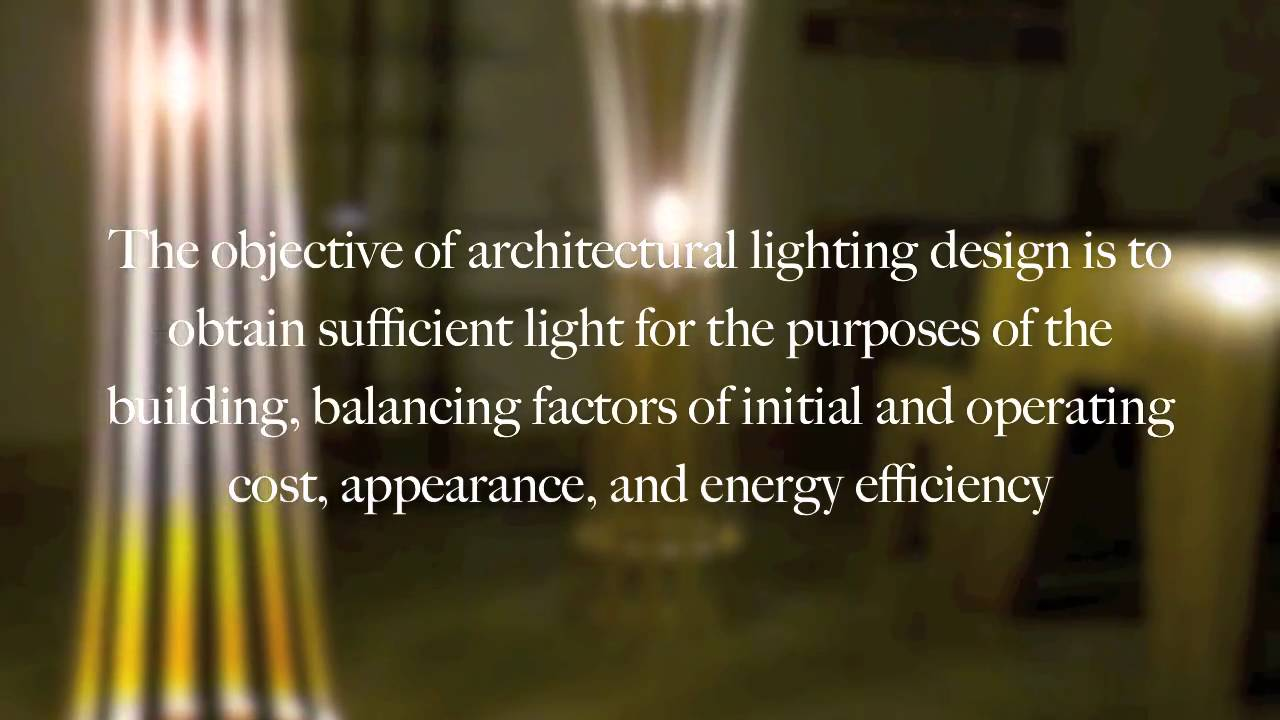Architecture theory lighting design youtube
