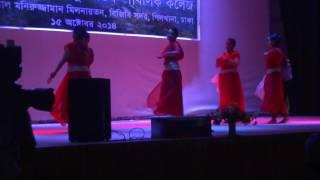 bir shreshtha munshi abdur rouf public college dance performance 2014