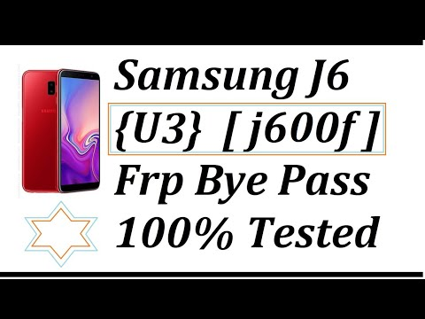 Samsung J6 (J600G) U3 Security FRP Lock Remove, Combination File