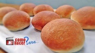 Cómo Hacer Pan Casero fácil y rápido - Receta de Pan Casero