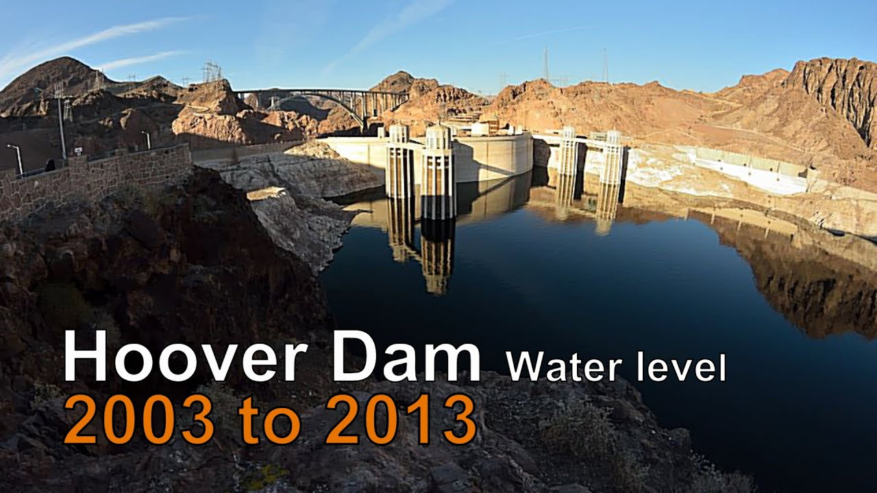 Hoover Dam LOW WATER LEVEL July 2018 - YouTube |Hoover Dam Water