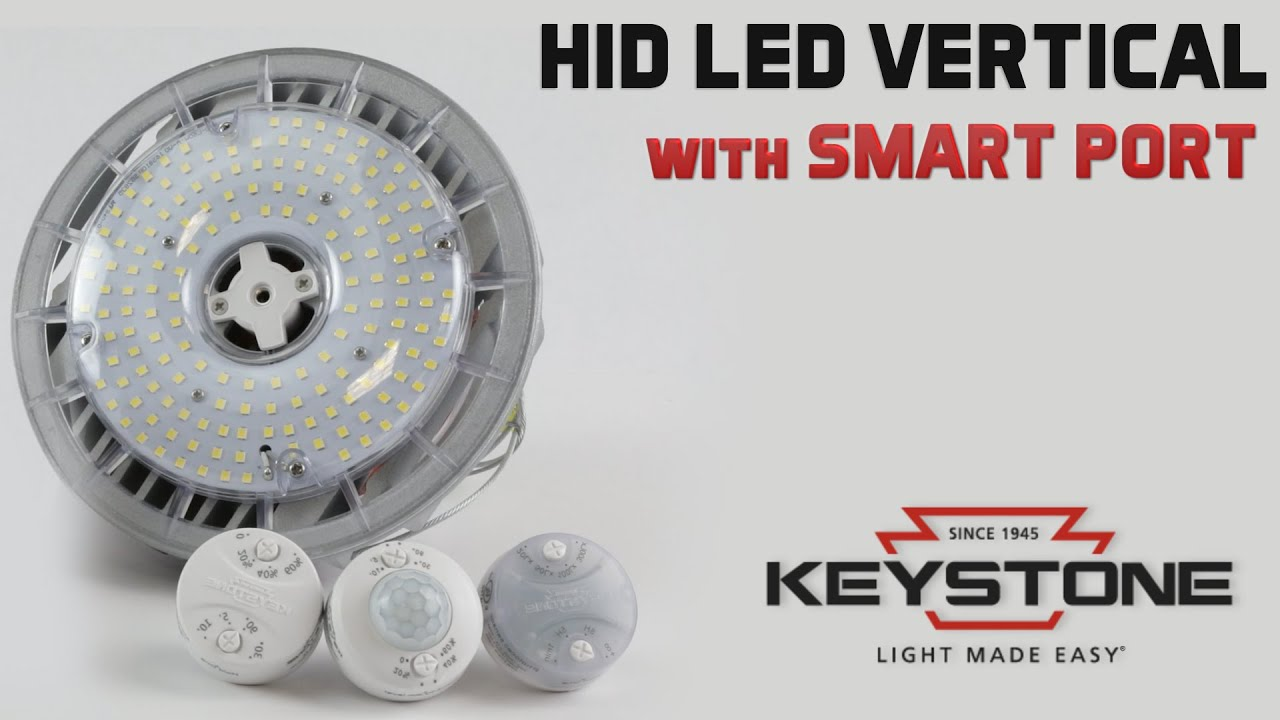 Keystone HID LED Lamp 14100 Lumens 5000K 100W 100-277V KT-LED100HID-EX39-850-D