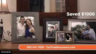Ted Todd Insurance Commercial 2015