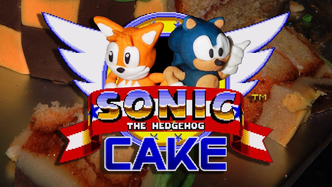Sonic The Hedgehog Birthday Cake Youtube