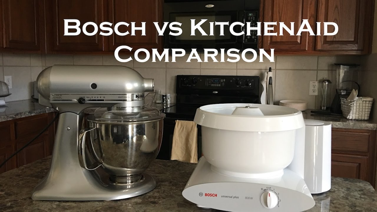 Superieur Bosch Vs KitchenAid Comparison