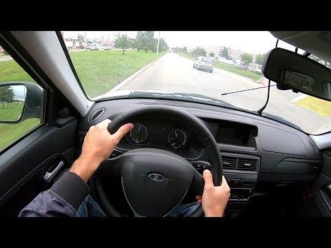 2016 ЛАДА ПРИОРА 1.6L (106) POV TEST DRIVE