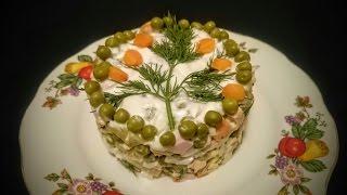 Вкусный салат Оливье рецепт Секрета приготовления