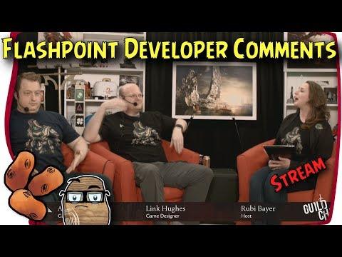 Guild Wars 2 - Flashpoint Developer Livestream | Guild Chat on Legendary Armour, Draconis Mons, etc