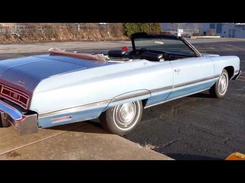 1974 Chevrolet Caprice -ONE OWNER -CLASSIC- CONVERTIBLE- FOR SALE