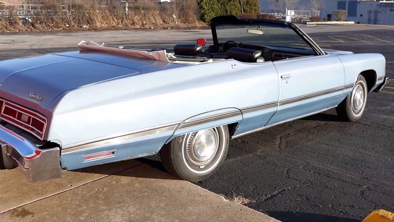 Chevrolet Caprice One Owner Classic Convertible For Sale