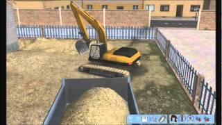 """Escavadeira no """"Bagger Simulator 2011"""""""