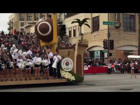 Rose Parade 2017 Not talking and fluff. Actual entire parade footage