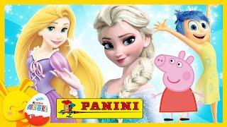 Compilation Images Panini pour les enfants - Reine des neiges - Peppa Pig - Princesses Disney