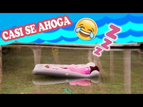 BROMA A SONNY DESPIERTA EN LA PISCINA!! | Palomitas Flow