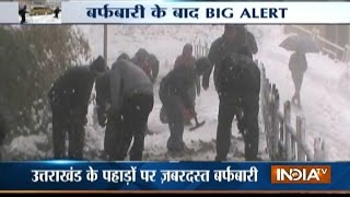 Snowfall Cuts Off Kashmir, Slows Down Life in Himachal, Uttarakhand