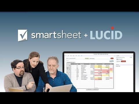 Smartsheet integration with Lucid Meetings
