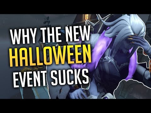 Why The New Overwatch Halloween Event SUCKS ASS thumbnail