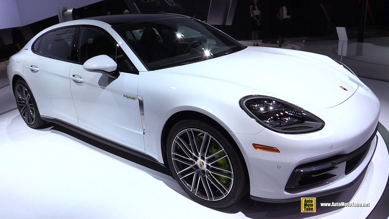 2017 Porsche Panamera 4 E Hybrid Executive Exterior And Interior Walkaround 2016 La Auto Show