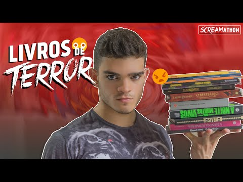 Livros de Terror - SCREAMathon