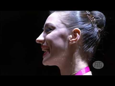 Rhythmic Worlds 2011 Montpellier   Clubs and Ribbon Finals   We are Gymnastics!