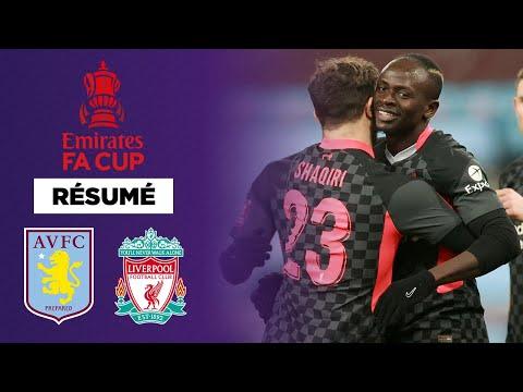 Résumé : Un doublé de Mané et Liverpool s'impose sans forcer contre Aston Villa