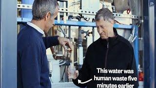 Video: Una máquina transforma desechos humanos en agua potable y electricidad.