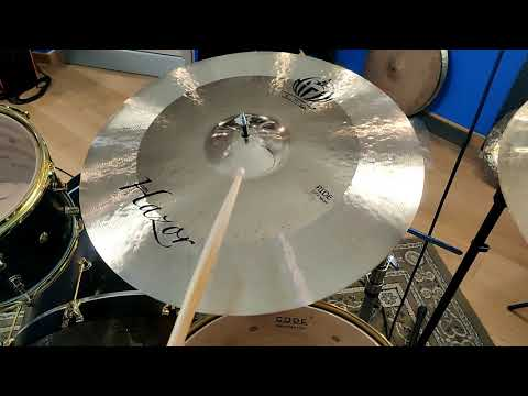 "Ride 22"" Hazor Sound Demo - Diril Cymbals Italia"