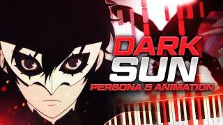 Dark Sun - Persona 5 The Animation Opening 2 | Shoji Meguro // Piano Synthesia Cover & Tutorial