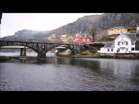 Timelapse, A spring day in Norheimsund, Hardanger, Norway
