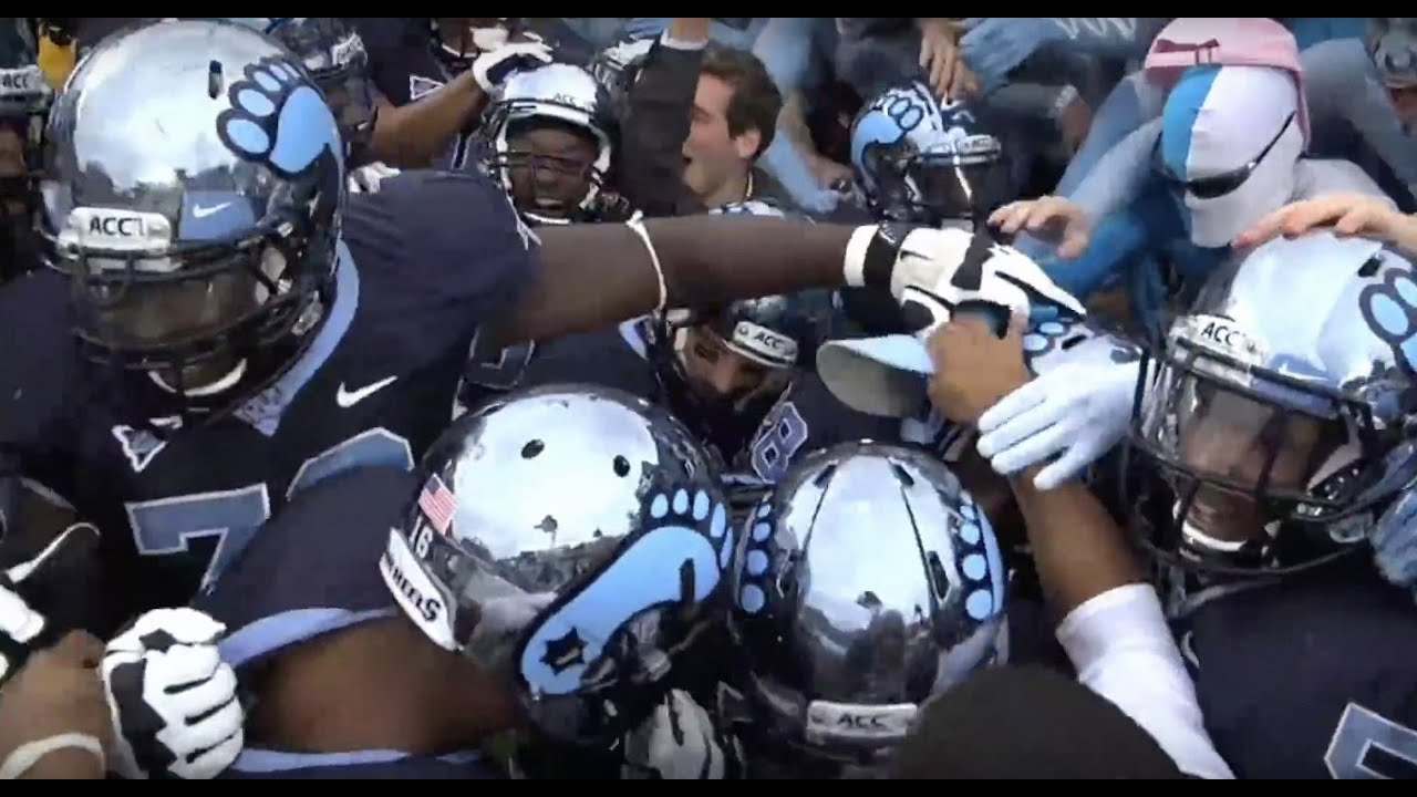 unc football all access vs nc state 2012 youtube
