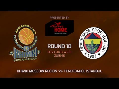 Highlights: Khimki Moscow region-Fenerbahce Istanbul