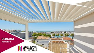Pergola Bioclimatik de balcon