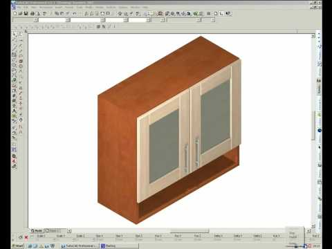 TurboCAD Furniture Maker   Material Change Of Individual Parts Dimensional  Change 1