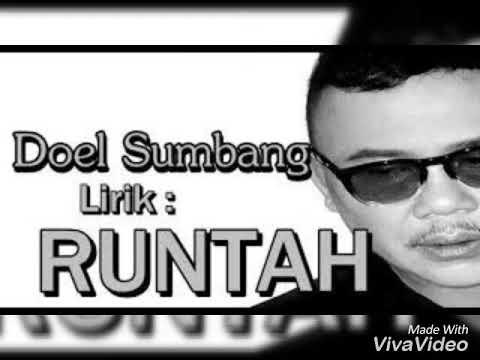 DOEL SUMBANG Lirik: RUNTAH