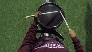 McCollum High School 2018 Snare Cam - Linus Villarreal