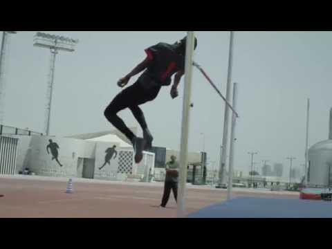 Mutaz Barshim, High Jumper from Qatar